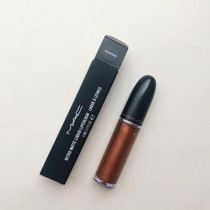 NIB MAC Retro Matte Liquid Lipcolour Metrochrome